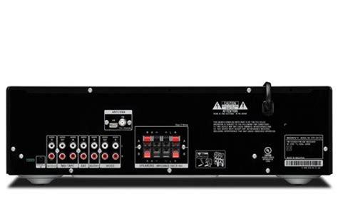sony strdh  channel stereo receiver black buy