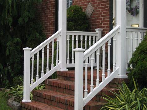 diy railing materials for front porch railing