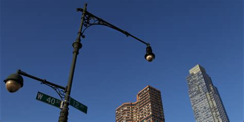 Light Fixtures Nyc Led Lights To Be Installed In New York City Huffpost