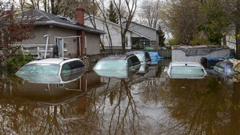 flooding  eastern canada maps show road closures water