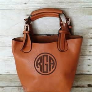 monogrammed black hobo handbag 2 in 1 from
