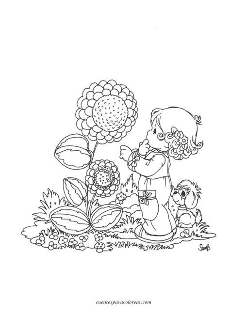 imagenes infantiles para colorear de flores dibujos para colorear flores