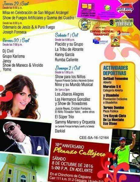 calendario fiestas patronales puerto rico 2016 fiestas patronales de utuado 2016 miagendapr com