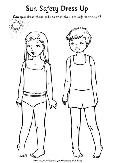 coloring pages sun safety sun safety worksheets free worksheets library download