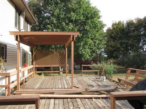 how to build a pergola on an existing deck pergola