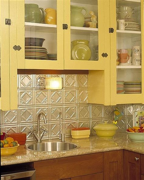 vintage kitchen backsplash 25 best tin tile backsplash ideas on pinterest slate