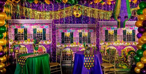 How To Decorate A Deck For A Wedding Mardi Gras Decorations Party City