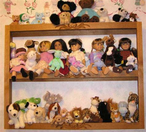 On A Shelf Doll by Doll Shelf Woodworking Plans How To