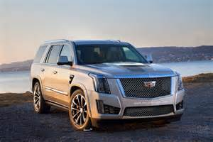 Looking For Cadillac Escalade High Performance Cadillac Escalade V Rendered