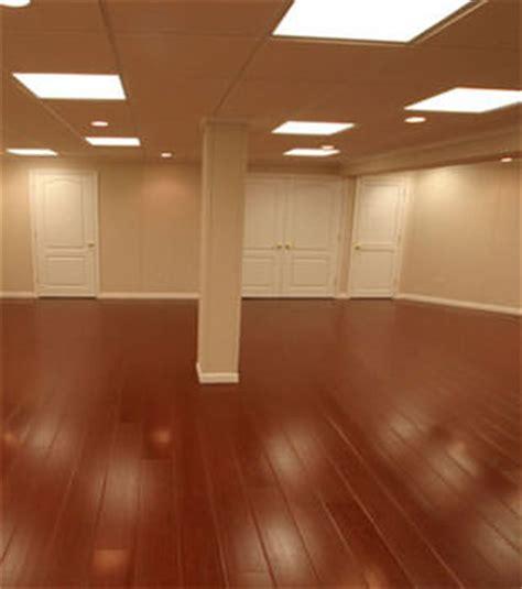 Wood Laminate Basement Floor Finishing Bangor, Portland