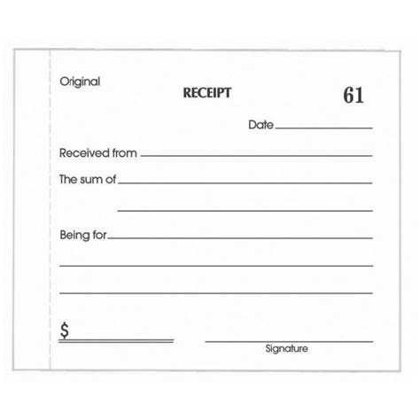 basic receipt template basic payment receipt letter template for pdf or word