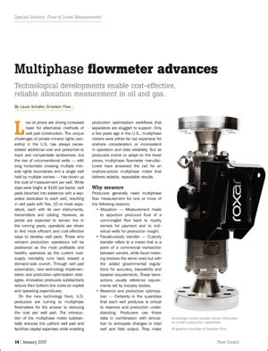multiphase flow measurement for oil and gas well pads