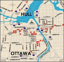 ottawa tourist map ottawa mappery