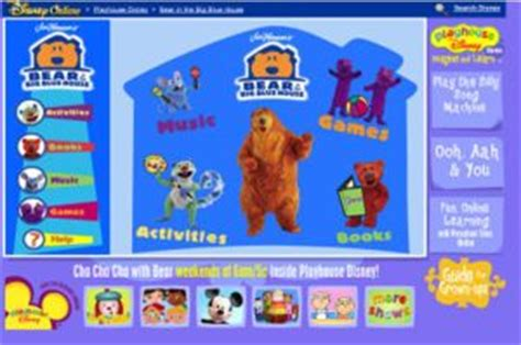 bear inthe big blue house disney junior bearinthebigbluehouse com misc the full wiki