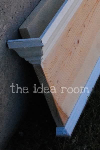 Diy Crown Molding Shelf by Crown Molding Shelf Around The House