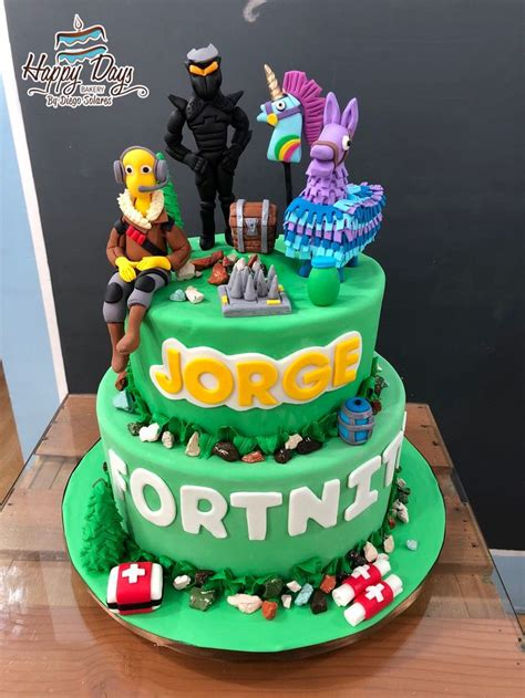 fortnite cake fortnitecake fondantcake fortnitegame fortnite pokemon  party ideas