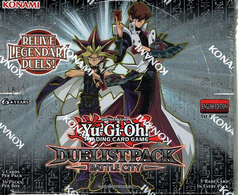 Yugioh Duelist Pack Booster Box 36ct Dp11 En Blackwing yugioh 1st edition duelist pack battle city 36ct factory sealed booster box
