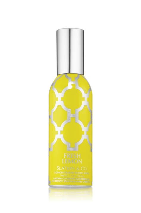 bath and works room spray fresh lemon concentrated room spray slatkin co bath works want