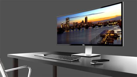 Monitor Curved dell s 34 quot 21 9 curve monitor the u3415w will be available in nov dec tech news and