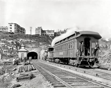shorpy historic picture archive bergen tunnel 1900