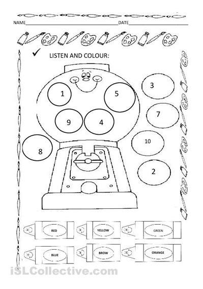 Listening Skills Worksheets For Kindergarten by 15 Best Images Of Kindergarten Worksheets Listening
