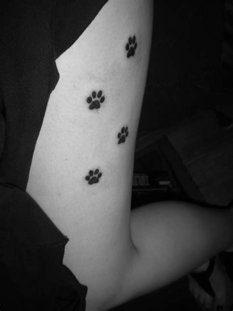 paw print tattoo design paw print tattoos designs ideas and meaning tattoos for you