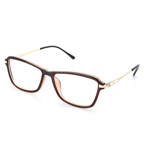 Retro Metal Square Glasses retro square hollow metal frame fashionable unisex myopia