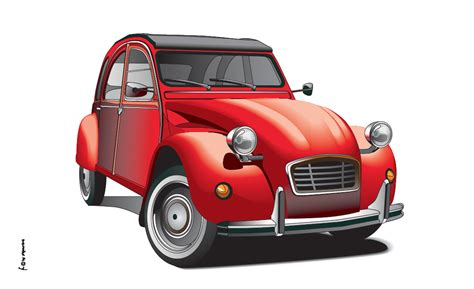 Eine Ente Auto by Citroen Ente 1 Oldtimerflagge Classic Cars Charlsten