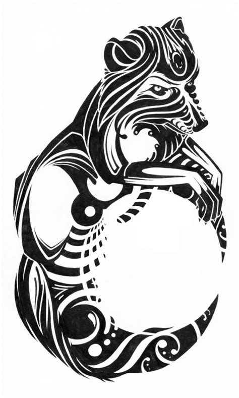 tribal pattern wolf wolf tattoos designs ideas and meaning tattoos for you