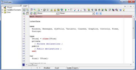 delphi object tutorial object editor delphi tutorial belajar pemrograman