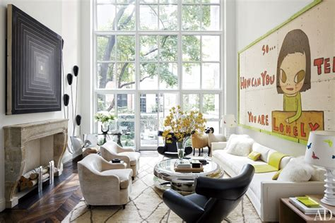 livingroom nyc an artfully designed new york city townhouse nbaynadamas furniture and interior