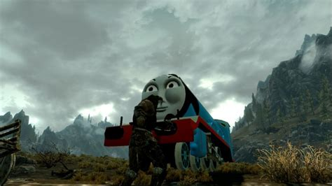 best game engine to mod skyrim mod turns dragons into thomas the tank engine trains