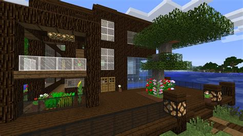 minecraft design house minecraft lake house design youtube