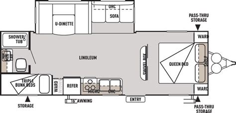wildwood trailers floor plans wildwood travel trailer by forest river