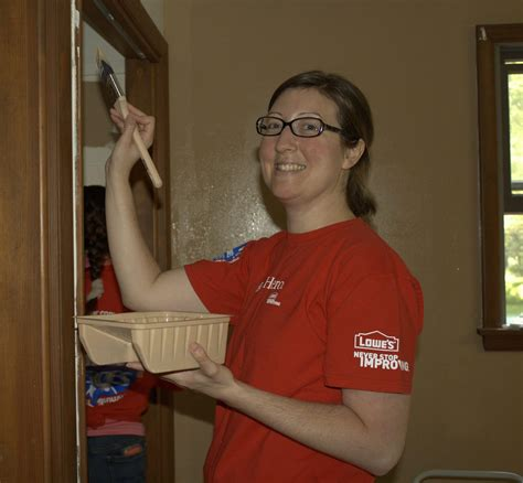 lowes in stroudsburg pa lowe s employees roll up their sleeves for canadensis food