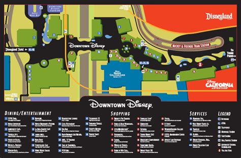 map of downtown disney the ultimate guide to downtown disney dlr prep school