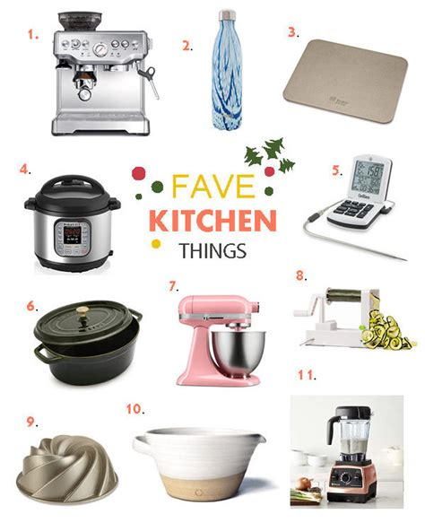 Things To In Your Kitchen by 2016 Favorite Things Gift Guide A Beautiful Plate