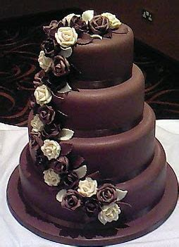 Wedding Cake Quantities by The Wedding Collections Chocolate Wedding Cakes