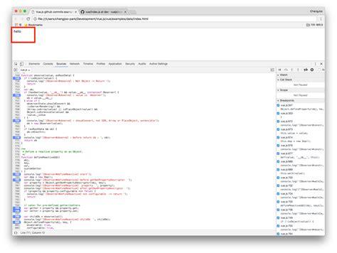defineproperty setter vue는 어떻게 data에 observer getter setter 를 추가할까 vue js
