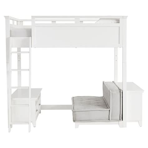 convertible loft bed hton convertible loft bed pbteen