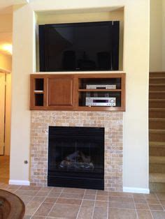 fireplace tv combo on