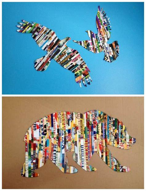 magazine craft projects best 25 magazine ideas on