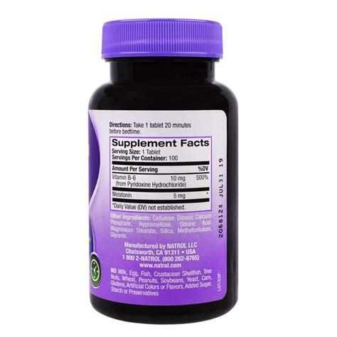 Natrol Melatonin Tr 5 Mg 100 Caps natrol melatonin time release 5 mg 100 tablets iherb