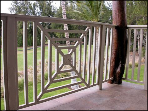 Lanai Railing Balister Designs 8 Stunning Porch Railing Patio Railings Designs