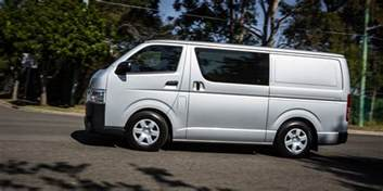 Toyota Hisce 2016 Toyota Hiace Lwb Review Caradvice