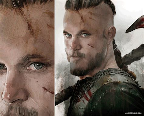 ragnar lothbrok the fearless viking hero of norse history vlad rodriguez artbook
