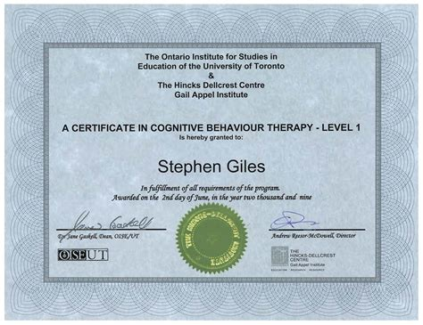 therapy certification cbt toronto launches new website to offer cognitive
