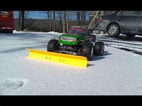 rc snow plow episode  youtube