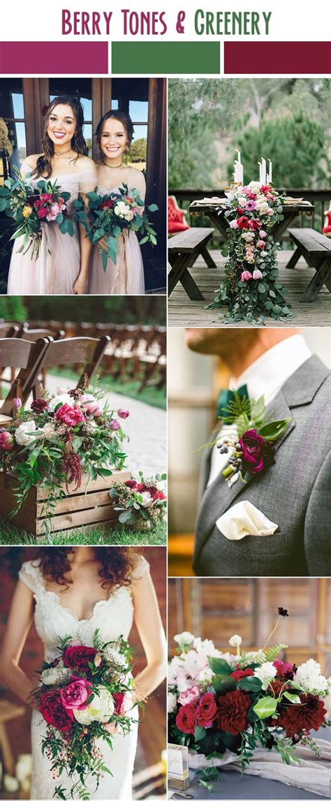 25 best ideas about wedding color schemes on wedding colour schemes winter wedding