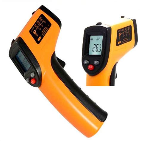 Thermometer Infrared Digital Non Contact Diskon infrared thermometer digital lcd non contact forehead